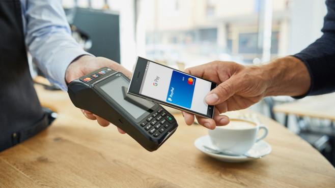 Mobiles Bezahlen©Mastercard