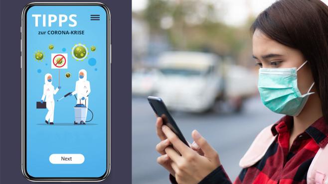 Smartphone in Zeiten von Corona©COMPUTER BILD