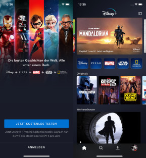 Disney+ (App für iPhone & iPad)