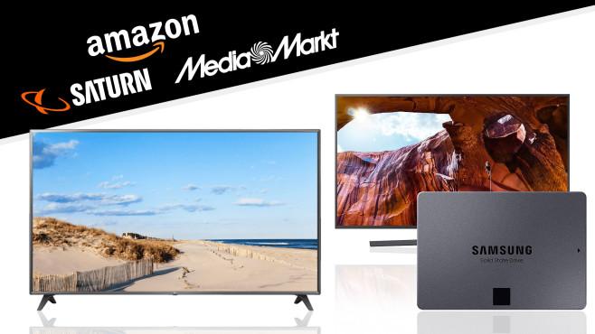 Amazon, Media Markt, Saturn: Die Top-Deals des Tages!©Saturn, Amazon, Media Markt, Samsung, LG