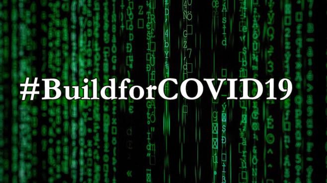 #BuildforCOVID19©pexels.com / Markus Spiske (Fotomontage)