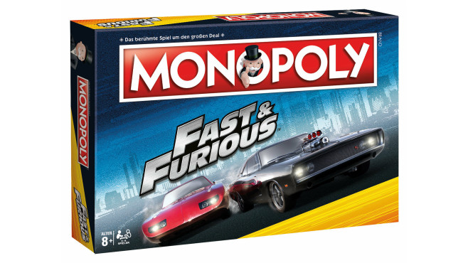 Monopoly Fast and Furios©Ebay