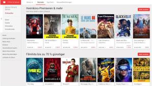 Google Play Serien und Filme©Screenshot
