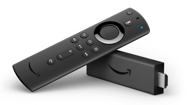 Amazon Fire TV Stick 4K mit neuer Sprachfernbedienung © Amazon