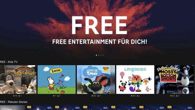 Rakuten TV bietet kostenlose Filme©Rakuten TV