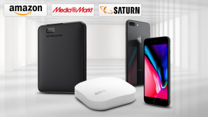 Amazon, Media Markt, Saturn: Die Top-Deals des Tages! © Amazon, Saturn, Media Markt, Apple, Western Digital, Eero, iStock.com/akinbostanci
