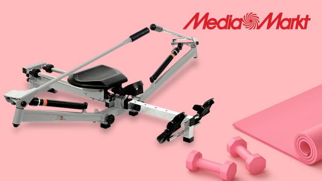 Rudergerät bei Media Markt: Christopeit-Angebot mit Zugabe sichern©Media Markt, Christopeit Sport