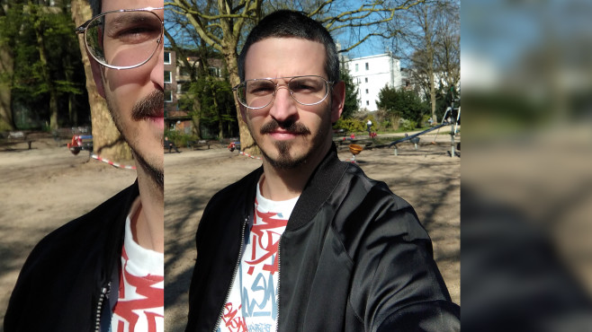 Selfie mit dem Redmi 8a©COMPUTER BILD
