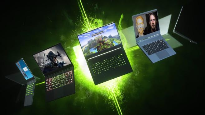 Nvidia Geforce RTX 2080 Super und RTX 2070 Super für Notebooks©Nvidia