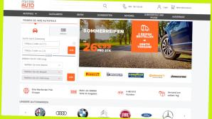Bei Mister Auto sparen Sie aktuell 25 Prozent©Screenshot www.onlinegolf.de