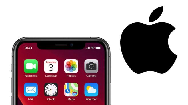 iPhone mit Apple-Logo©Apple / COMPUTER BILD
