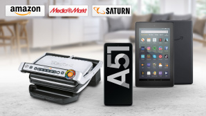 Amazon, Media Markt, Saturn: Die Top-Deals des Tages! © Amazon, Saturn, Media Markt, Samsung, Tefal, iStock.com/CreativaStudio, iStock.com/FGorgun