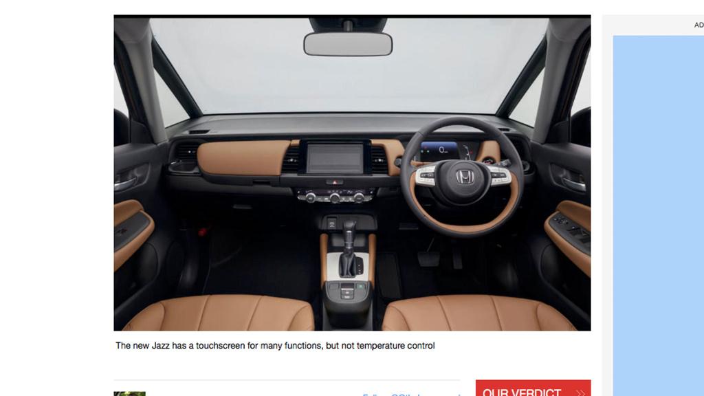 Honda rudert zurück: Touch-Steuerung muss Knöpfen weichen