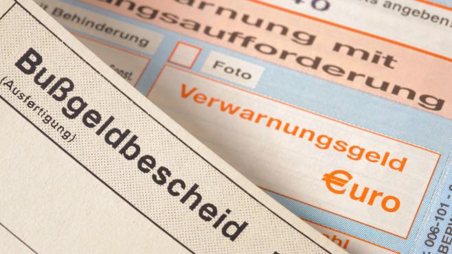 Bußgeldbescheid©iStock.com/filmfoto