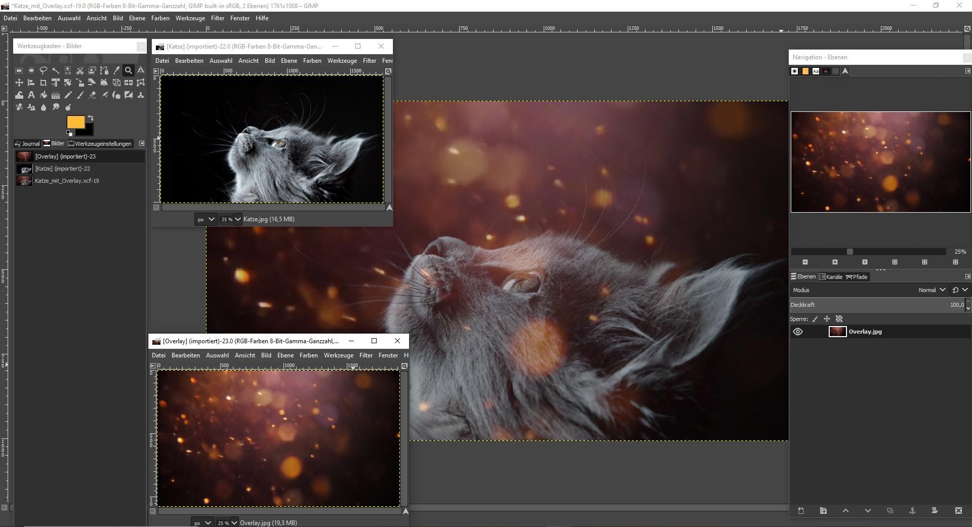Screenshot 1 - 1500 Cinematic Photo Overlays – Kostenlose Vollversion