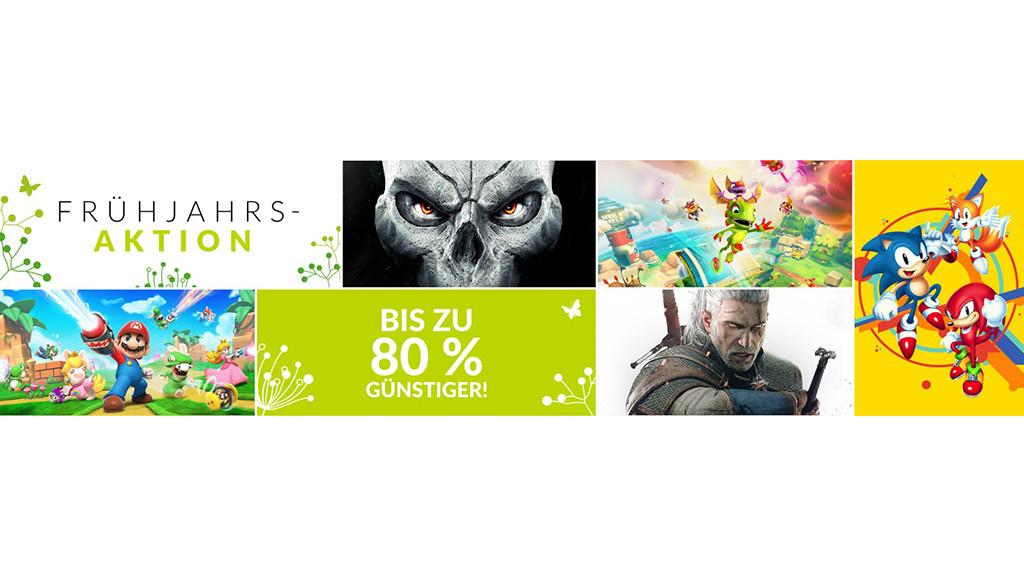 Nintendo: Großer Frühjahrs-Sale für die Switch gestartet