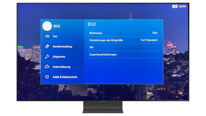 Samsung Q95T: Bildmodus-Wahl©Samsung, COMPUTER BILD