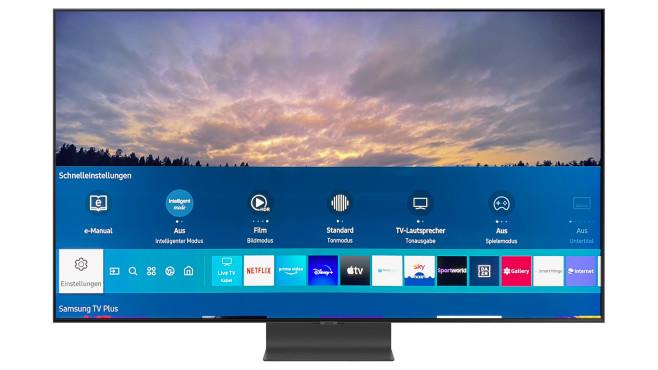 Samsung Q95T: Home-Taste©Samsung, COMPUTER BILD