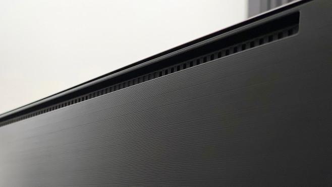 Samsung Q95T: zusätzliche Lautsprecher©COMPUTER BILD