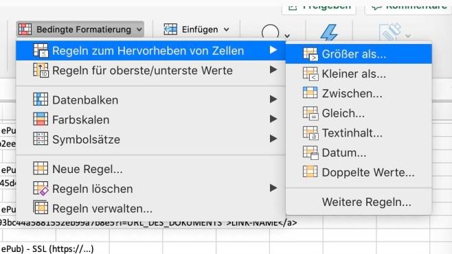 Microsoft Excel: Formatvorlagen©Microsoft / COMPUTER BILD