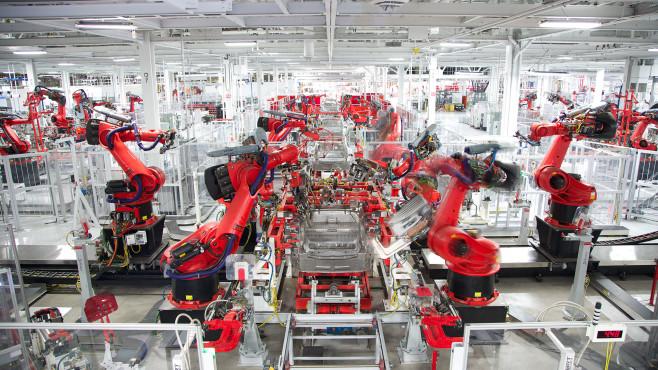 Tesla Fabrik©Tesla