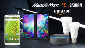 Amazon, Media Markt, Saturn: Die Top-Deals des Tages! © Amazon, Media Markt, Saturn, iStock.com/kertlis, Philips, LG, Motorola