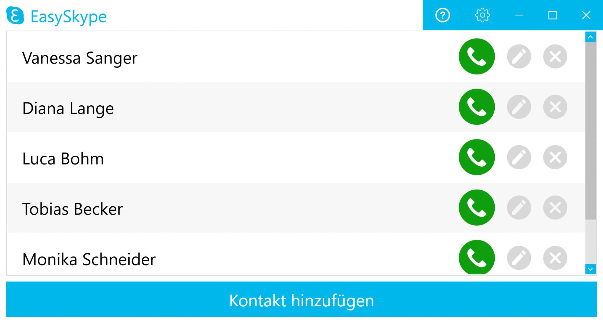 Screenshot 1 - EasySkype