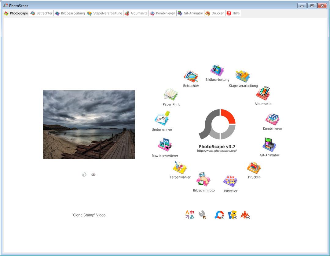 Screenshot 1 - PhotoScape