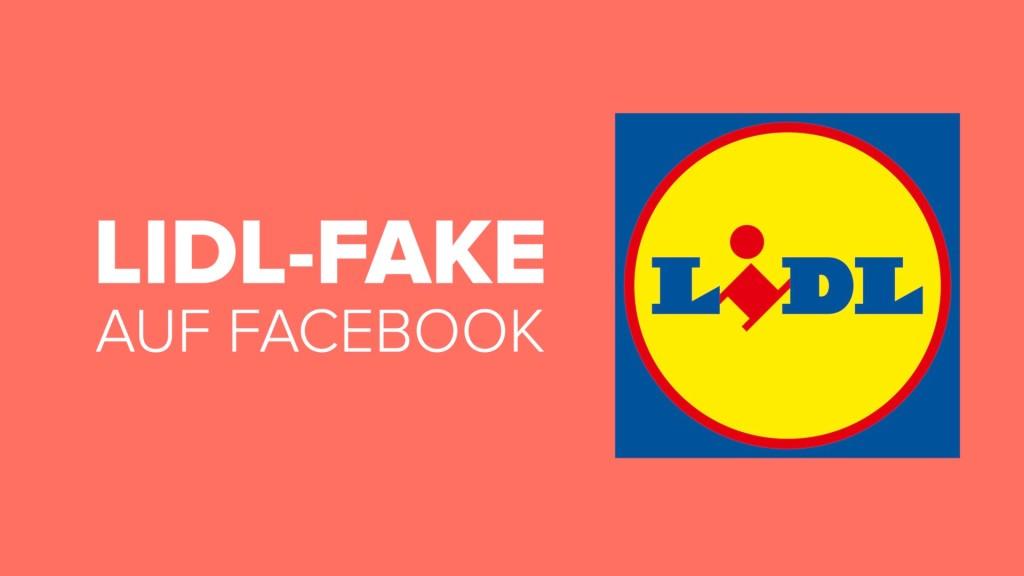 Lidl Gewinnspiel Fake