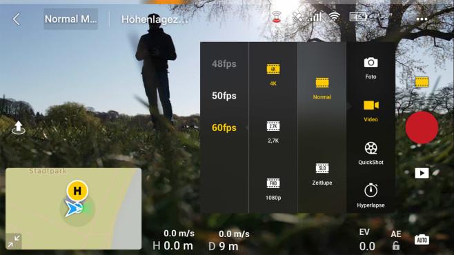 DJI Mavic Air 2 App©COMPUTER BILD