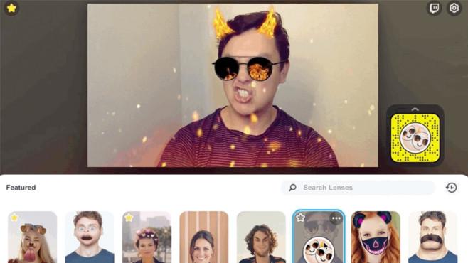 Microsoft Teams: So ändern Sie den Videohintergrund Mit Snap Camera holen Sie sich die beliebten Snapchat-Filter in die Videokonferenz.©Snap Camera
