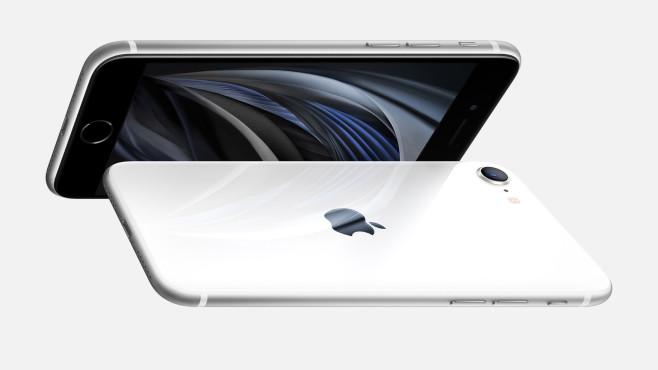 Apple iPhone SE in Weiß©Apple