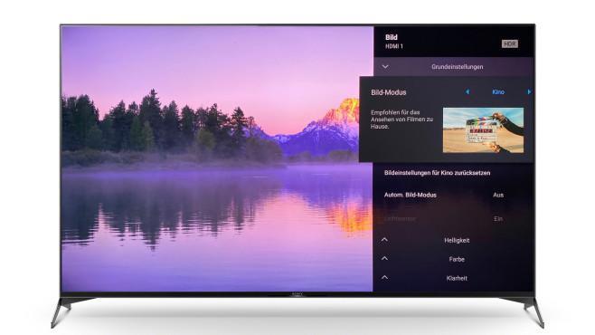 Der Sony XH95 zeigte im Test die beste Bildqualität im Film-Modus.©Sony, COMPUTER BILD