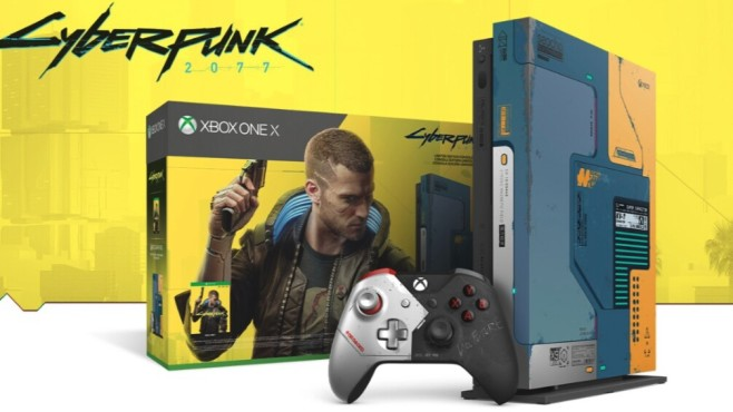 Xbox One X Cyberpunk 2077©Microsoft