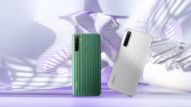 Das Realmi 6i: Rückseite in beiden Farben©Realme