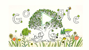 Doodle zum Earth Day 2021 © Google