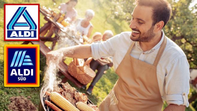 Aldi-Grills: Heiße Angebote beim Discounter?©Aldi Nord, Aldi Süd, iStock.com/Ivanko_Brnjakovic
