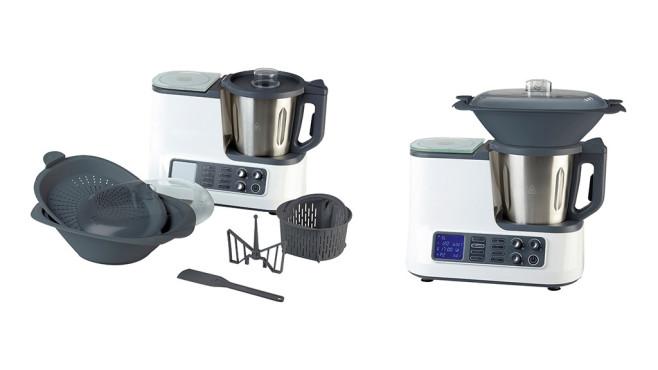 Aldi Quigg Küchenmaschine Mit Kochfunktion Und Wlan Computer Bild