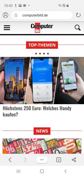 Microsoft Edge (Android-App)