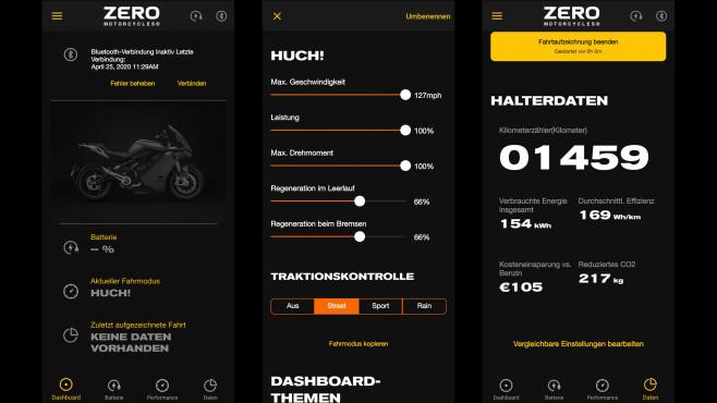 Zero SR/S: App©COMPUTER BILD / Michael Huch