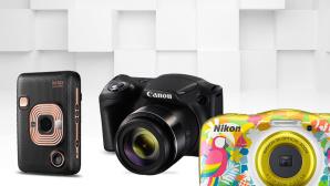 G�nstig, aber auch gut? Kameras bis 200 Euro im Check©Canon, Fujifilm, Nikon, iStock.com/akinbostanci