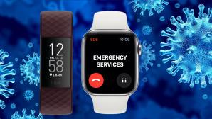 Corona per Smartwatch erkennen©CR: iStock.com/wildpixel Kopie, Fitbit, Apple