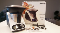 Medion-Küchenmaschine mit Kochfunktion (MD 16361)©Michael Huch