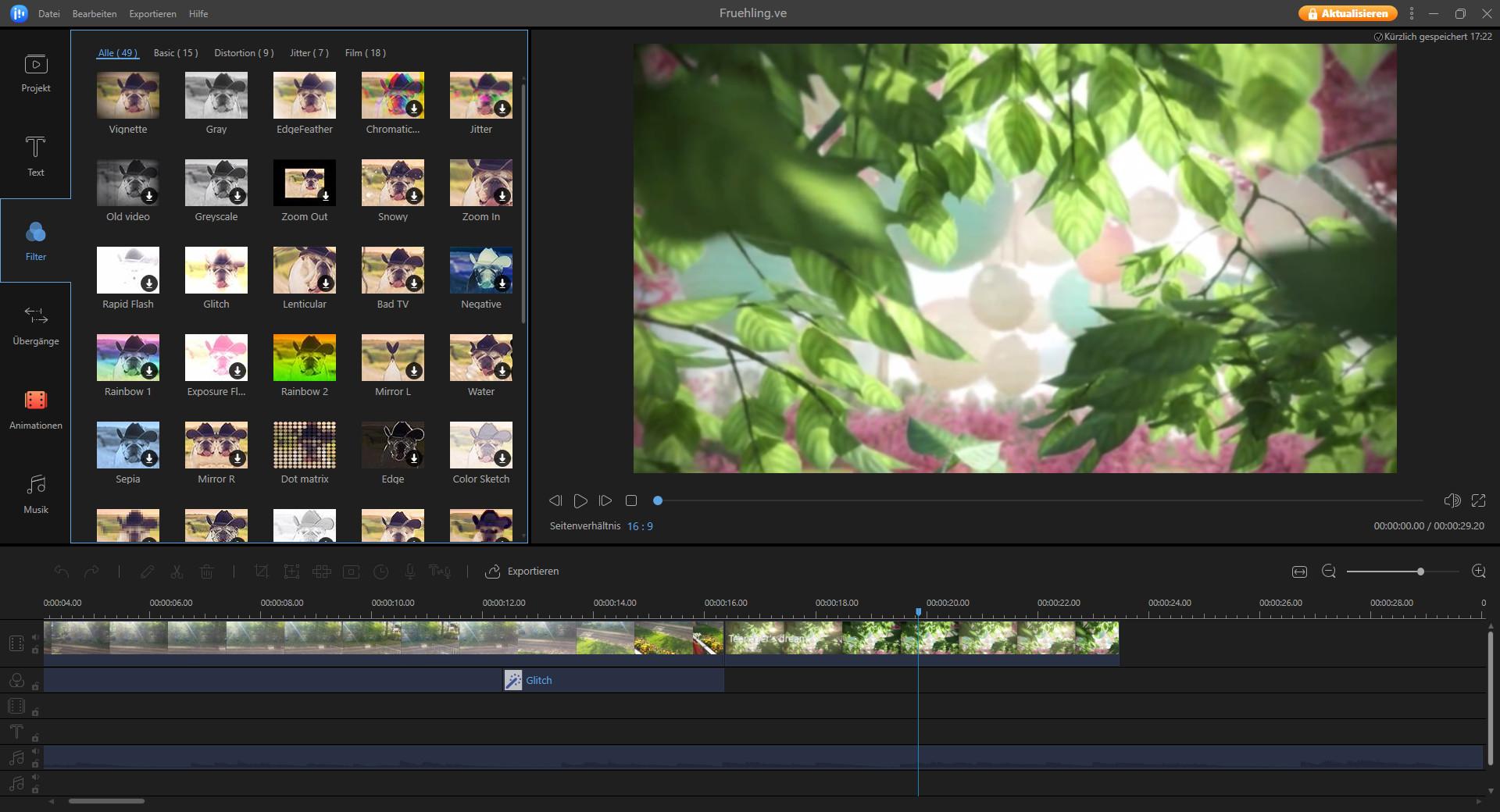 Screenshot 1 - EaseUS Video Editor