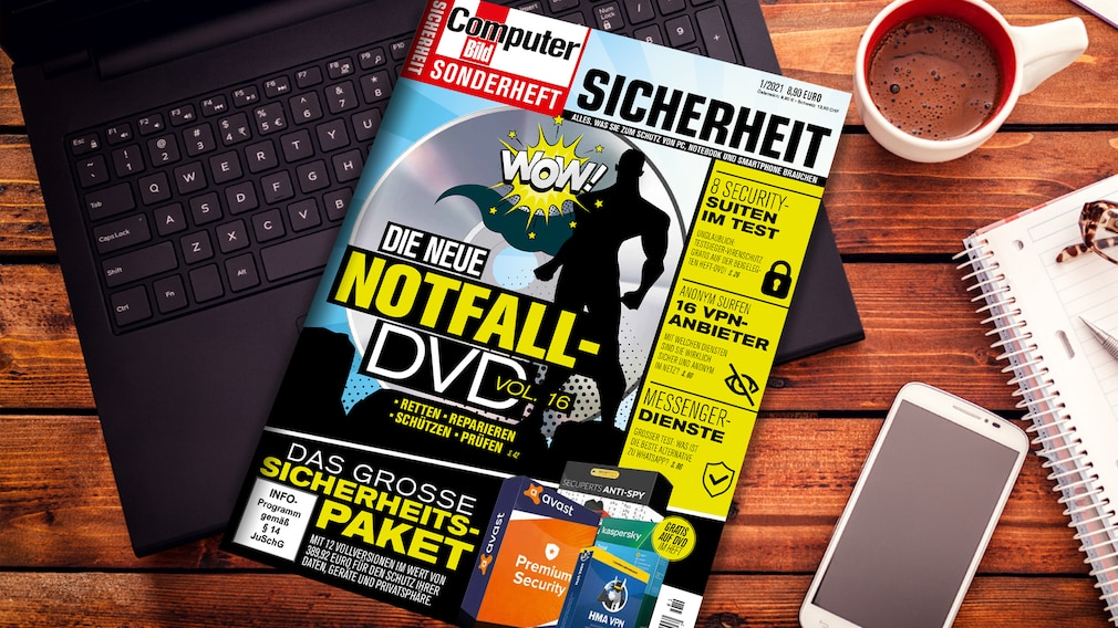 COMPUTER BILD Sonderheft Sicherheit 2021©istock.com/gordana jovanovic