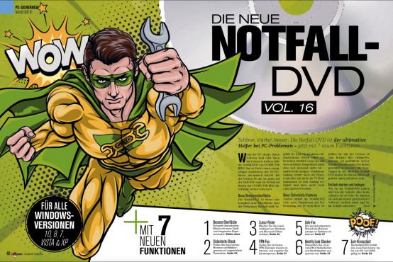 Notfall-DVD 16 ©COMPUTER BILD
