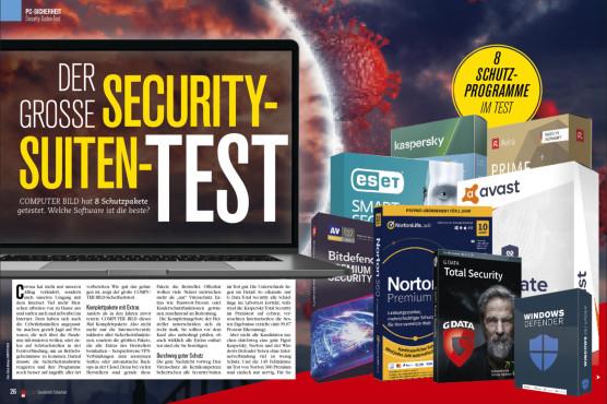 Security-Suiten-Test ©COMPUTER BILD