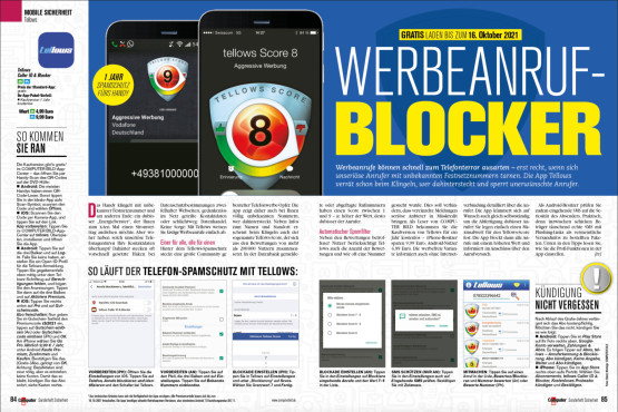 Werbeanruf-Blocker ©COMPUTER BILD