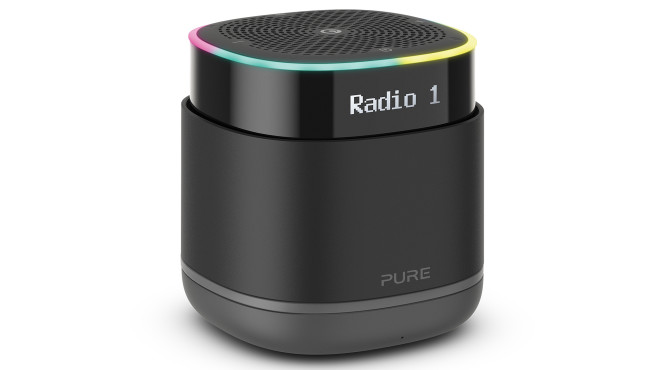 Bluetooth-Lautsprecher mit Radio: Pure StreamR©Pure