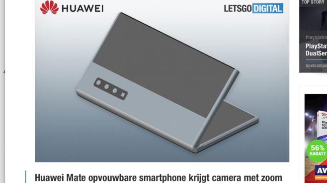Huawei: Patent©Huawei / letsgodigital.org